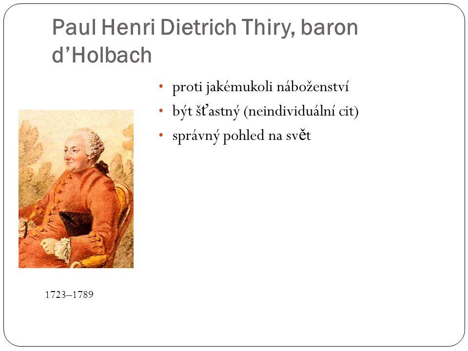 Paul Henri Dietrich Thiry, baron d'Holbach