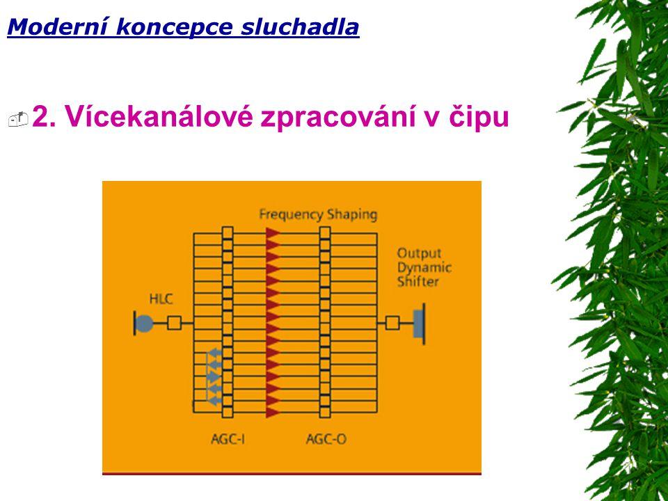 2. Vícekanálové zpracování v čipu