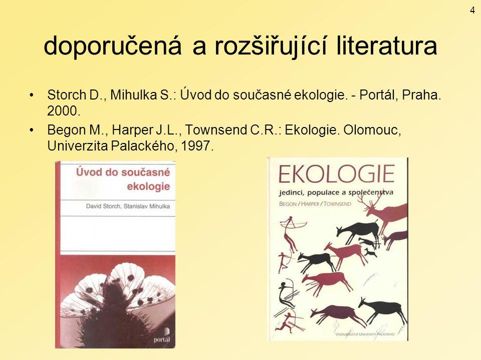 doporučená a rozšiřující literatura