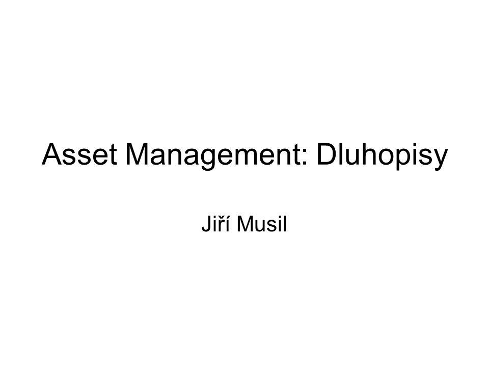 Asset Management: Dluhopisy