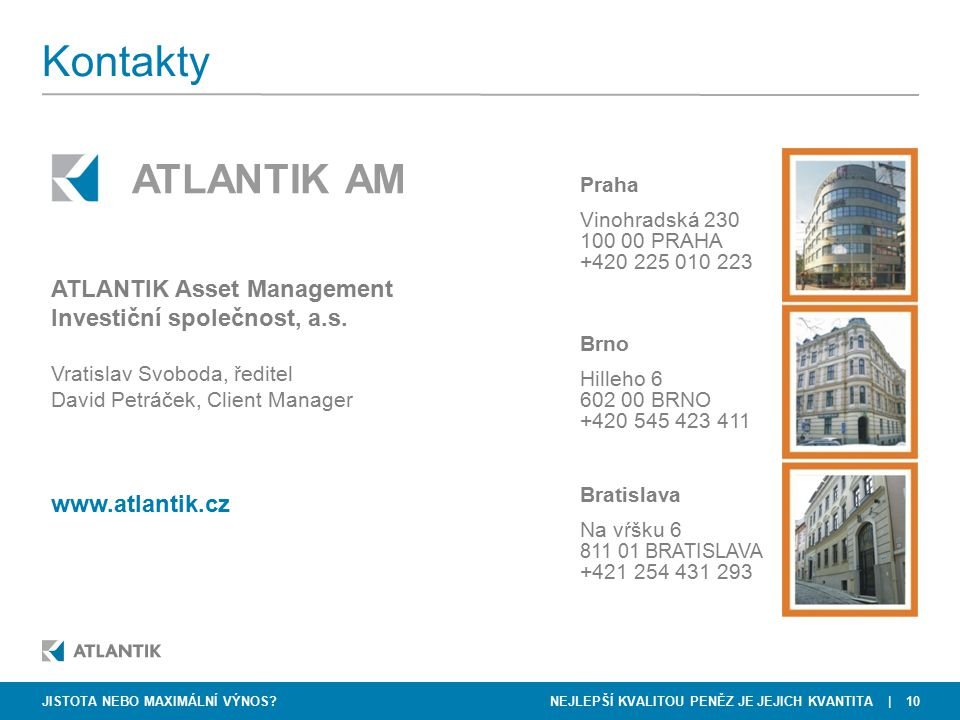 Kontakty ATLANTIK AM ATLANTIK Asset Management