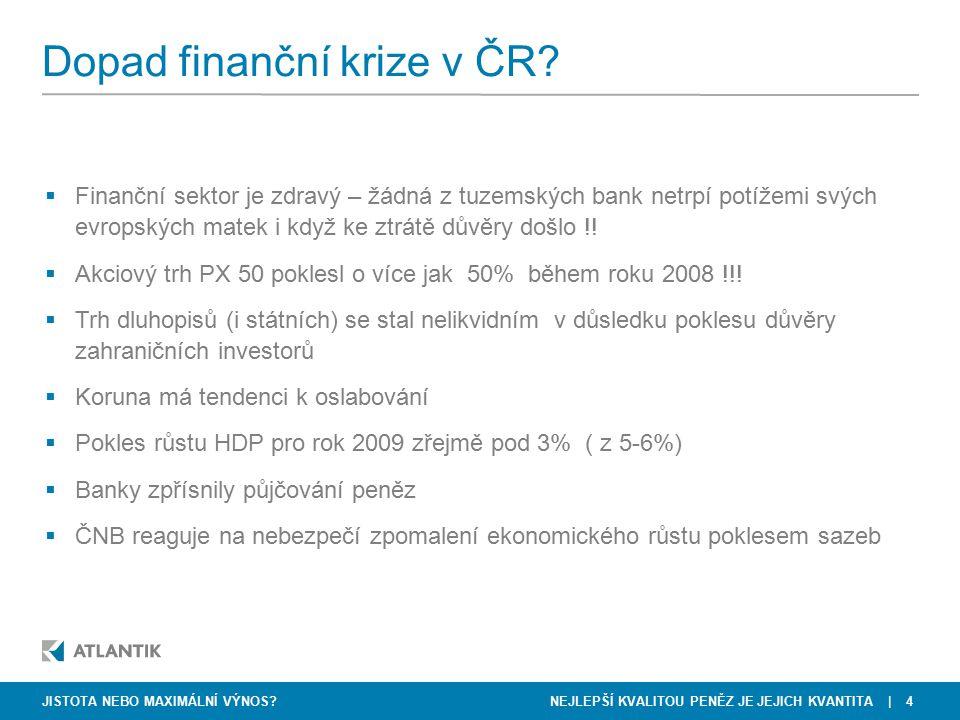 Dopad finanční krize v ČR