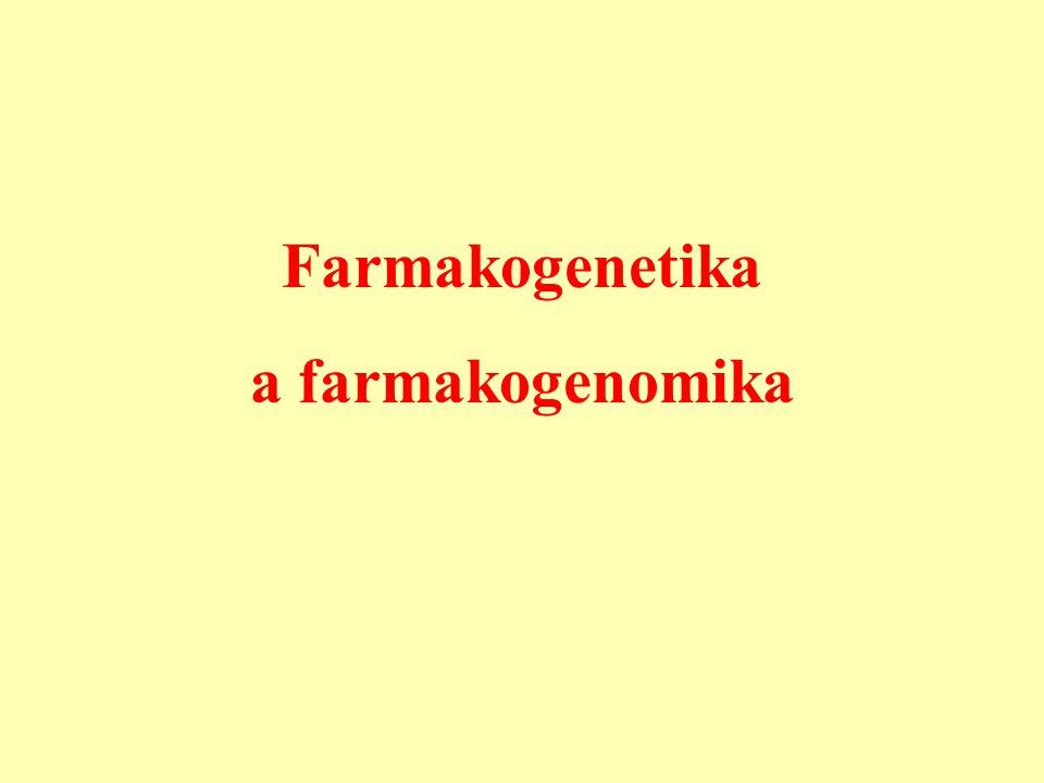Farmakogenetika a farmakogenomika