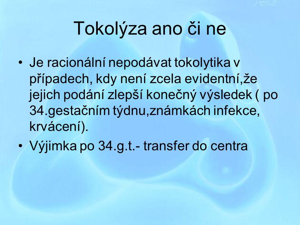 Tokolýza ano či ne