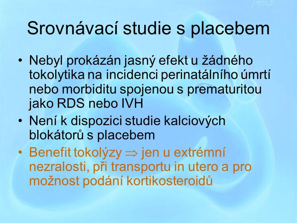 Srovnávací studie s placebem
