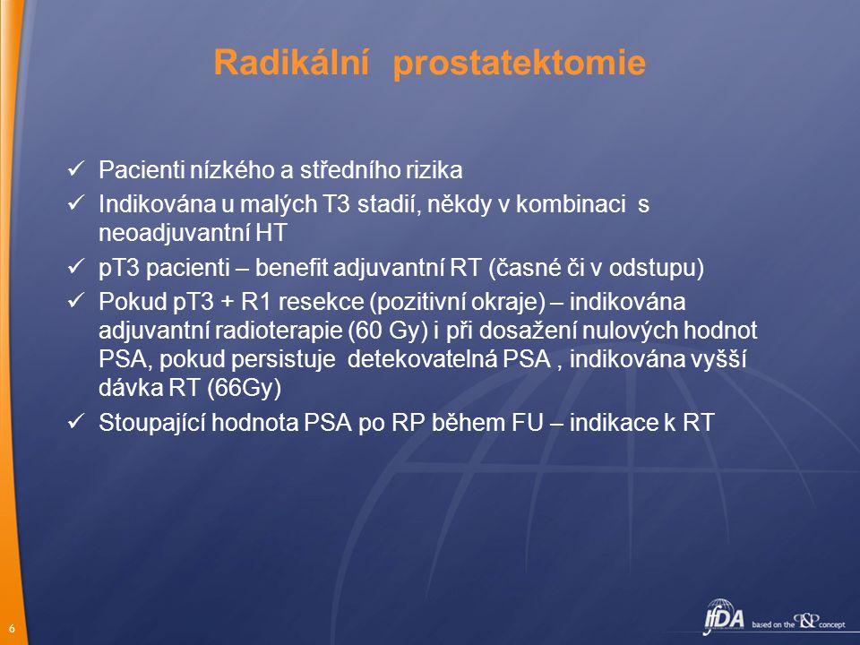 Radikální prostatektomie