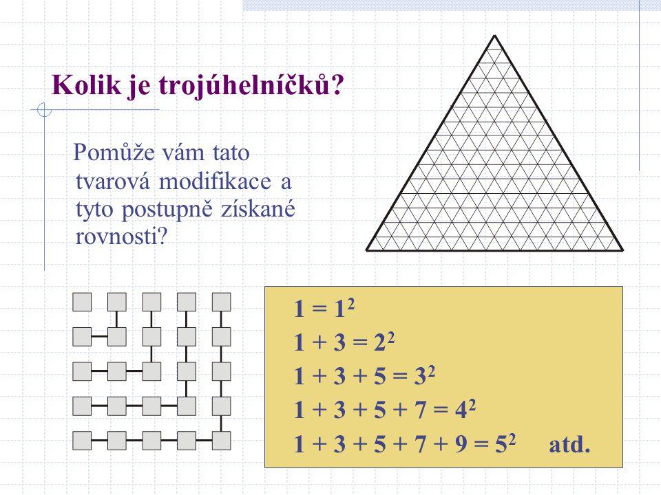 Kolik je trojúhelníčků