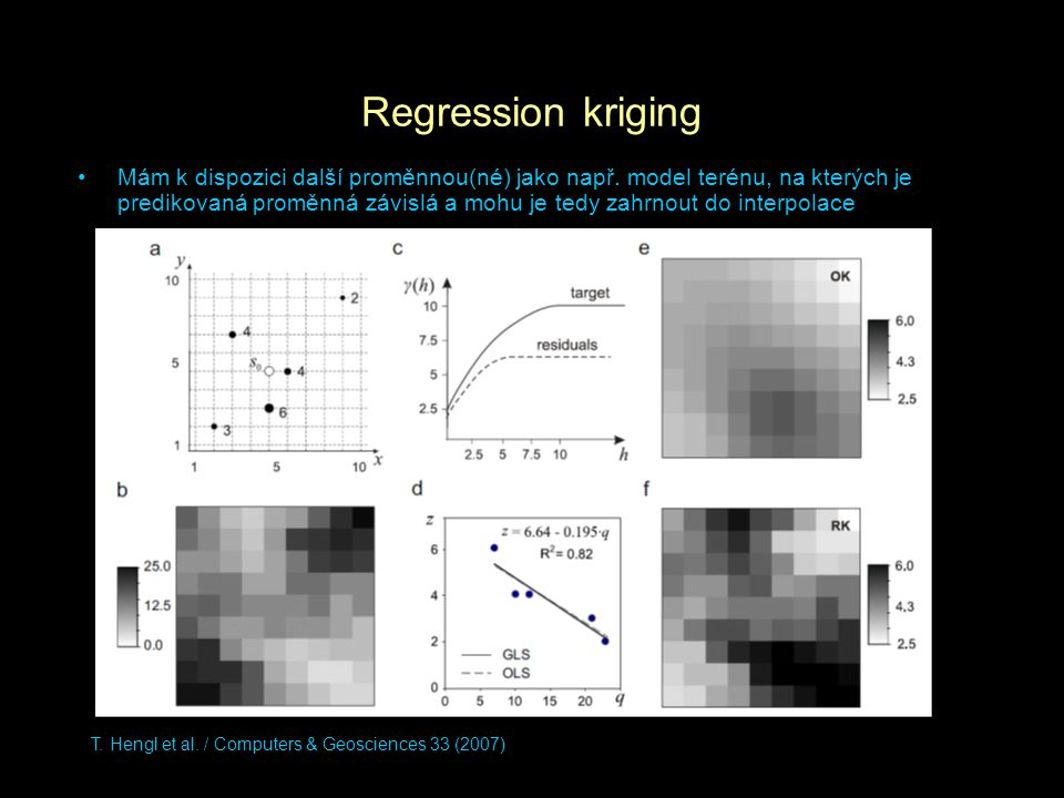 Regression kriging