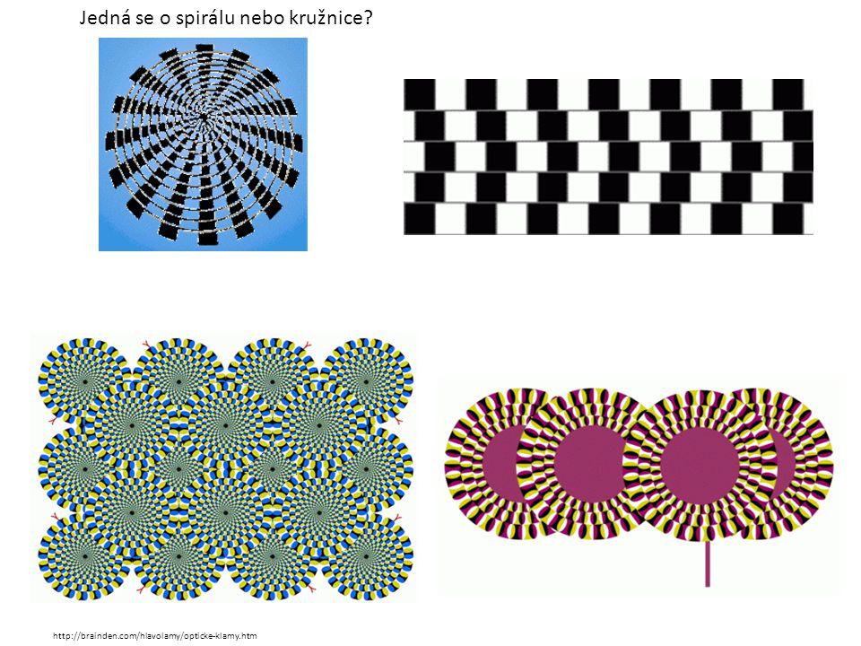 Jedná se o spirálu nebo kružnice