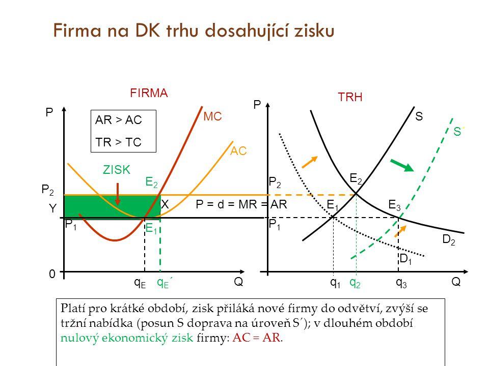 Firma na DK trhu dosahující zisku