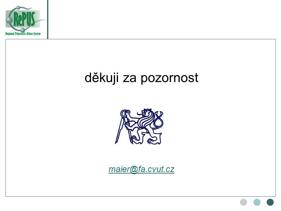 děkuji za pozornost maier@fa.cvut.cz