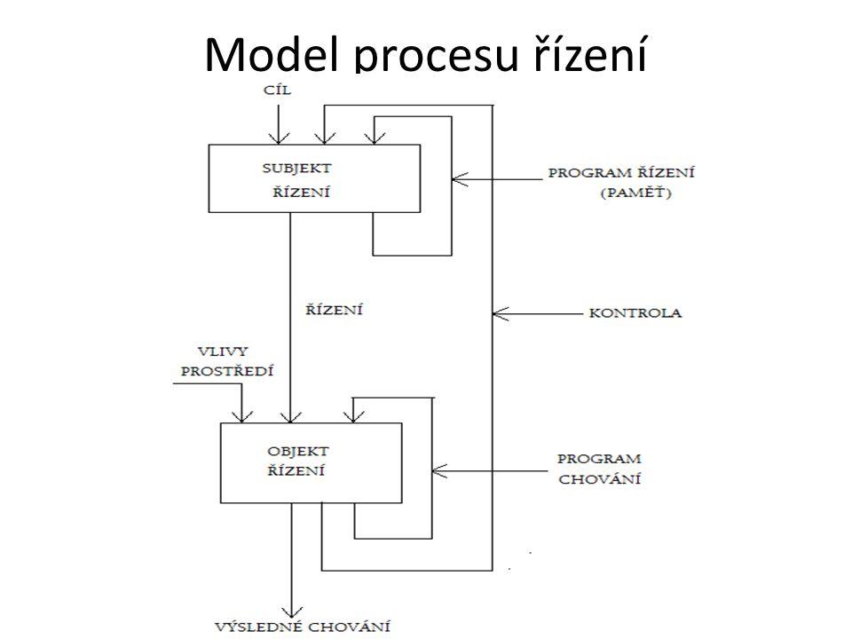 Model procesu řízení