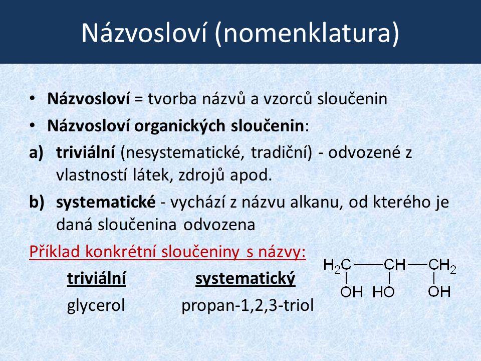 Názvosloví (nomenklatura)