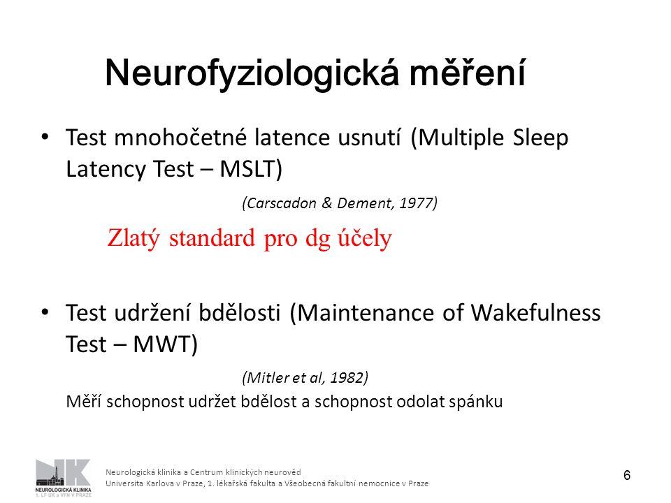 Neurofyziologická měření