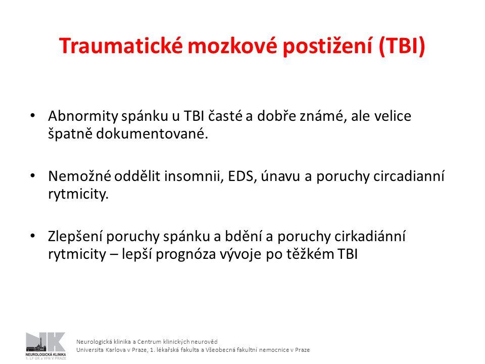 Traumatické mozkové postižení (TBI)