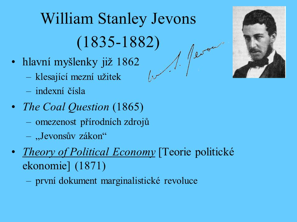 William Stanley Jevons