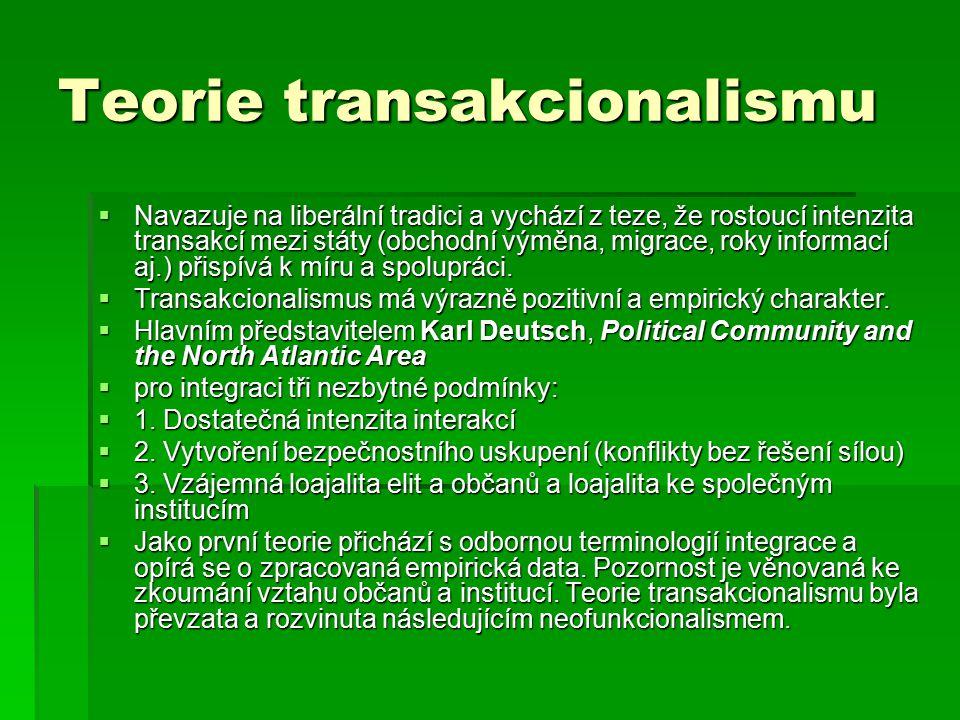 Teorie transakcionalismu