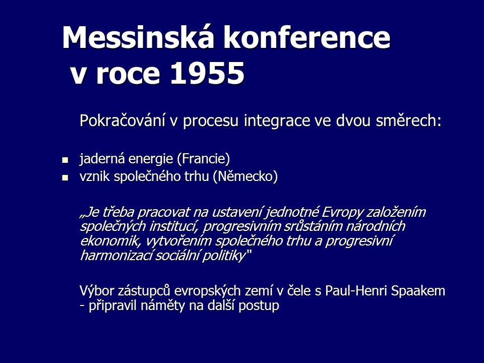 Messinská konference v roce 1955