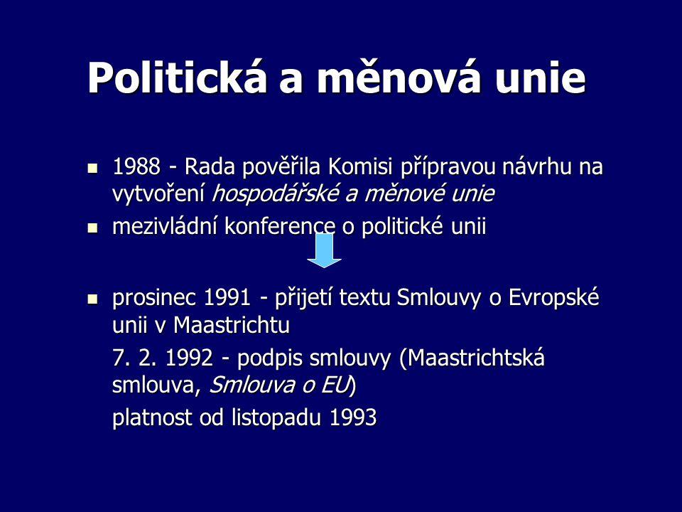 Politická a měnová unie