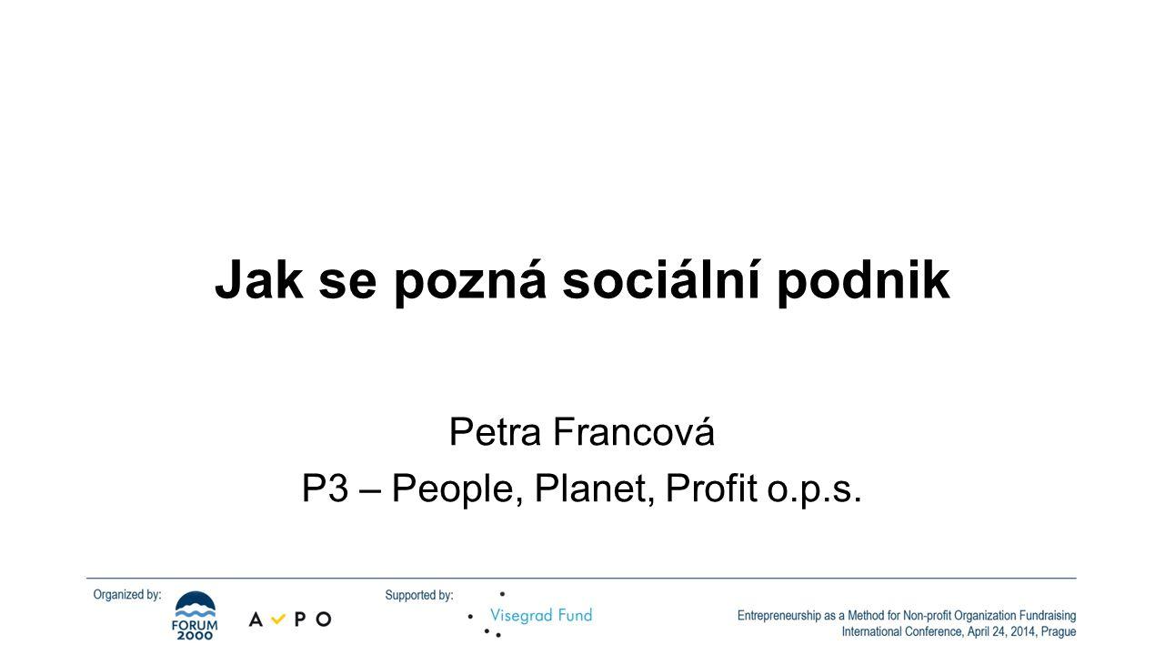 Jak se pozná sociální podnik