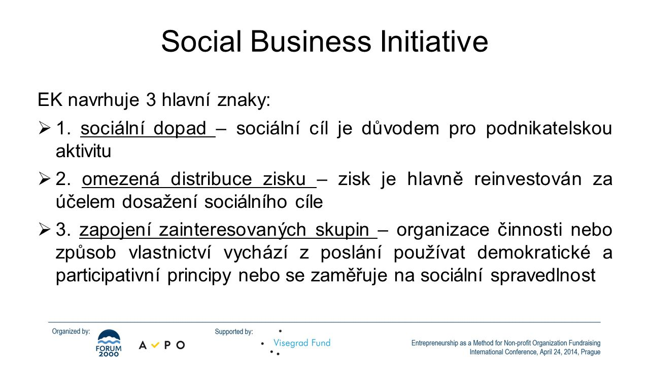 Social Business Initiative