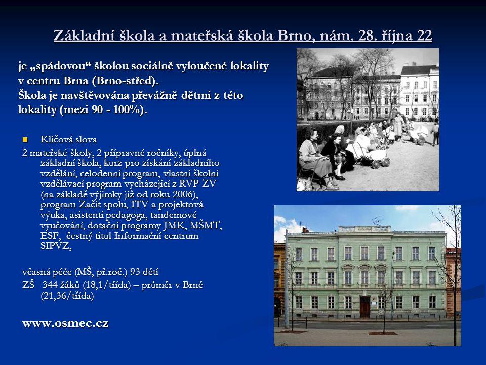 Základní škola a mateřská škola Brno, nám. 28. října 22