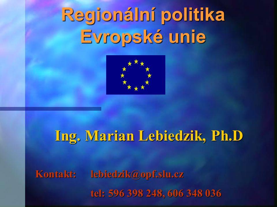 Regionální politika Evropské unie