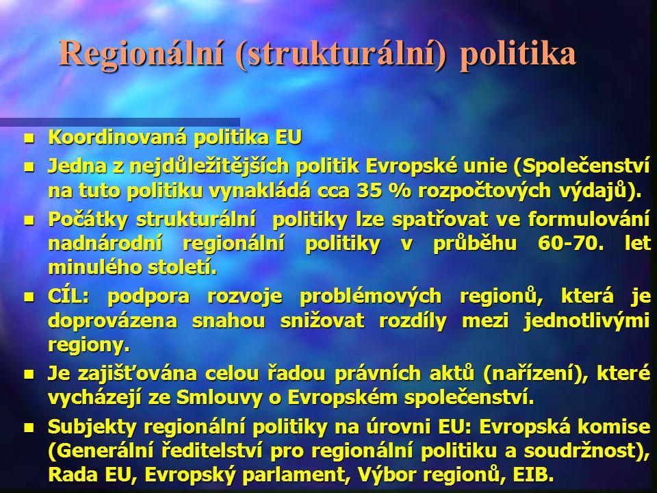 Regionální (strukturální) politika