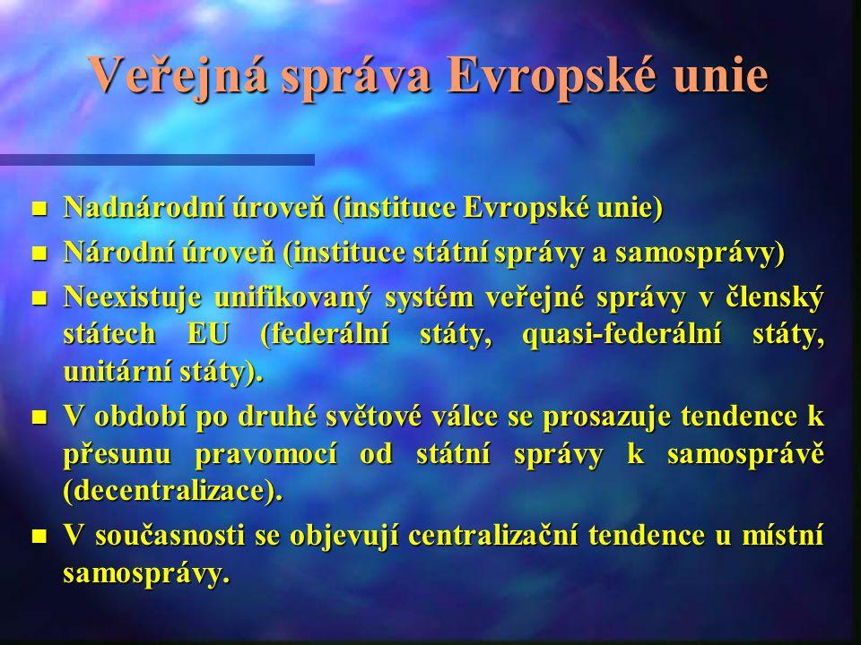 Veřejná správa Evropské unie