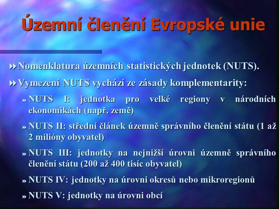 Územní členění Evropské unie