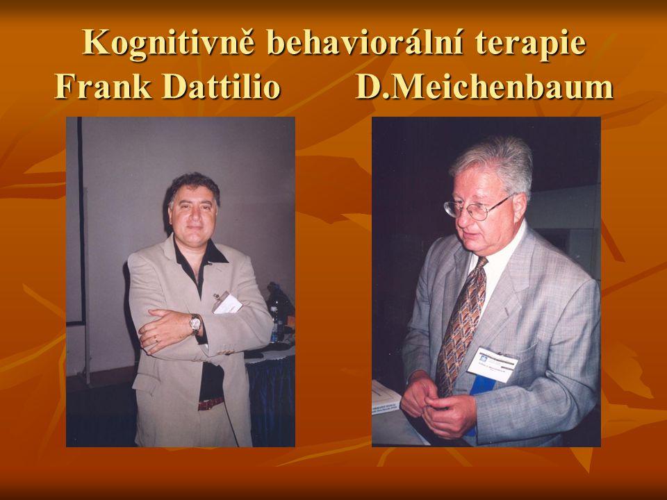 Kognitivně behaviorální terapie Frank Dattilio D.Meichenbaum