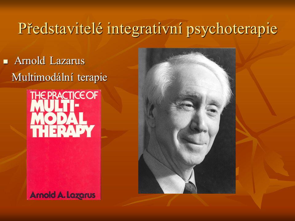 Představitelé integrativní psychoterapie