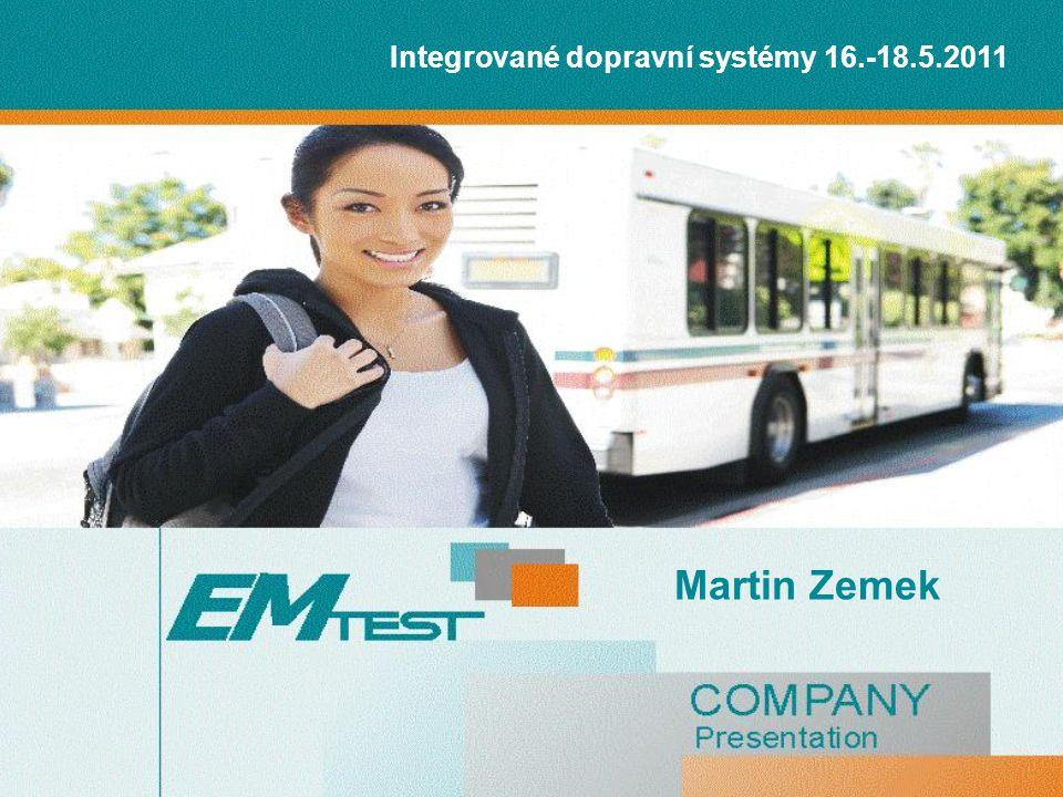 Integrované dopravní systémy 16.-18.5.2011