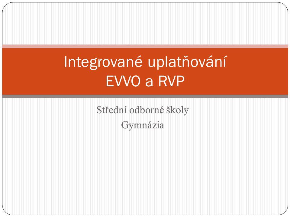 Integrované uplatňování EVVO a RVP