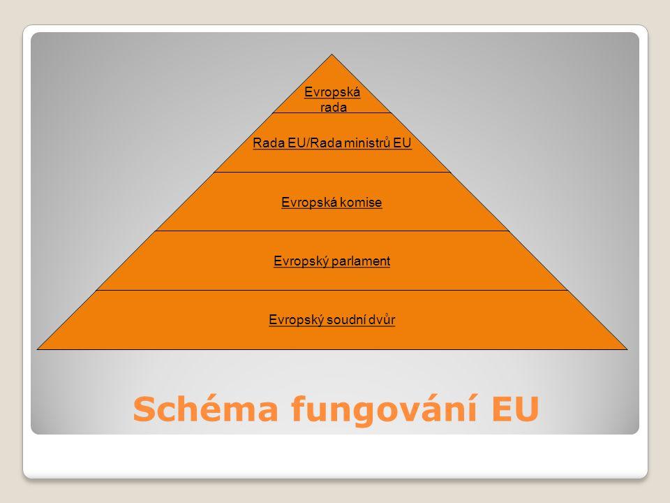 Schéma fungování EU
