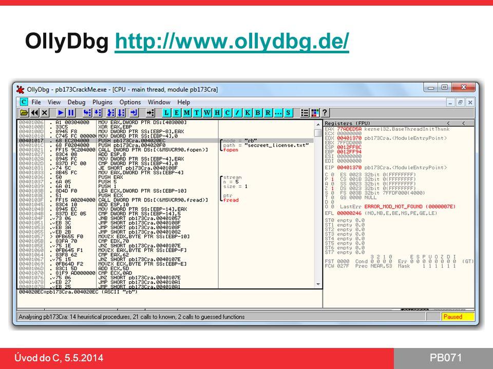 OllyDbg http://www.ollydbg.de/