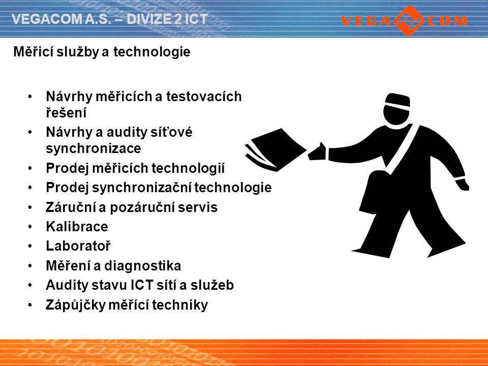 Měřicí služby a technologie