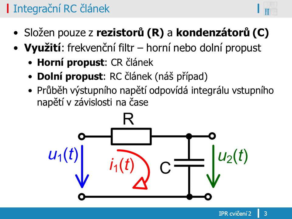 Složen pouze z rezistorů (R) a kondenzátorů (C)