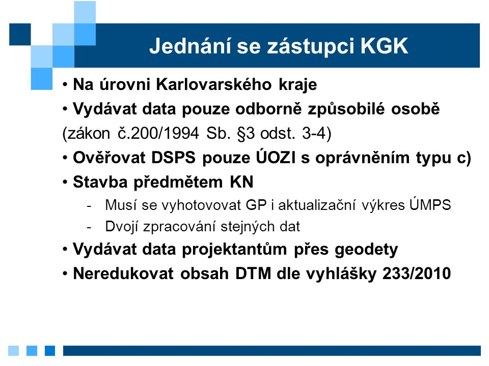 Jednání se zástupci KGK