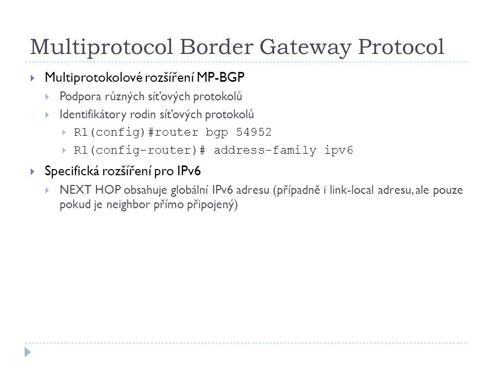 Multiprotocol Border Gateway Protocol