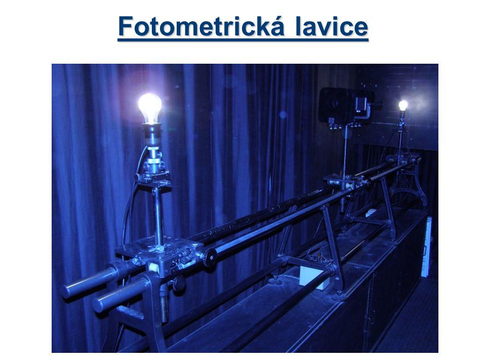 Fotometrická lavice