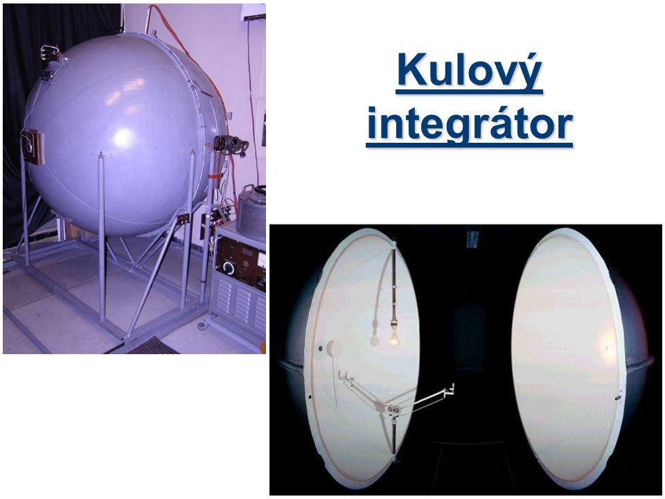Kulový integrátor