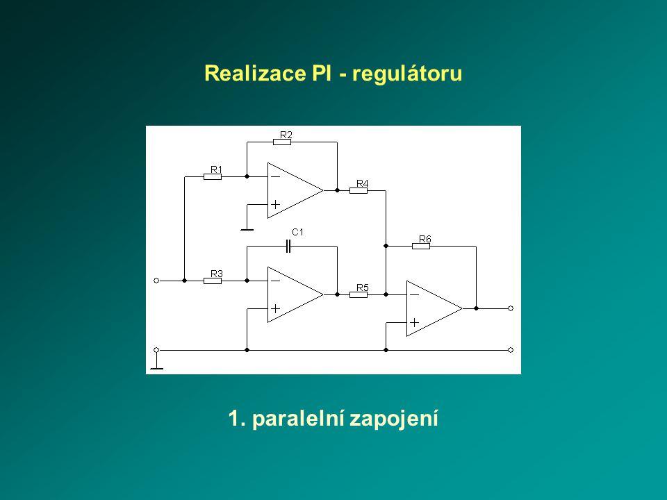 Realizace PI - regulátoru