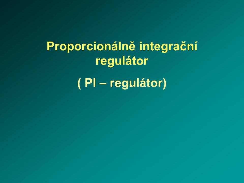 Proporcionálně integrační regulátor