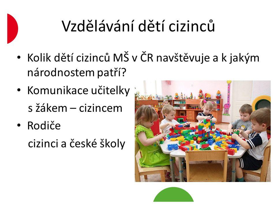 Vzdělávání dětí cizinců