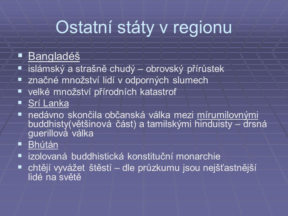 Ostatní státy v regionu
