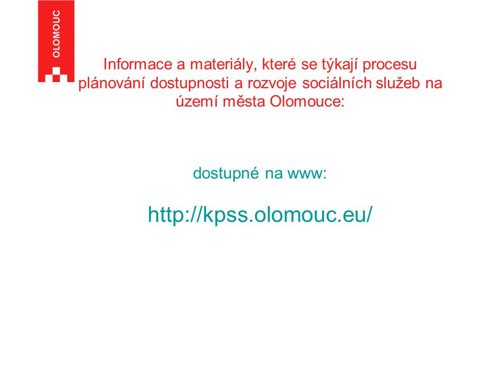 http://kpss.olomouc.eu/ dostupné na www: