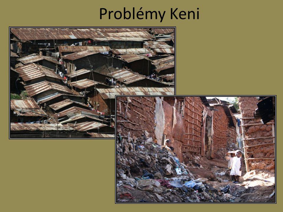 Problémy Keni
