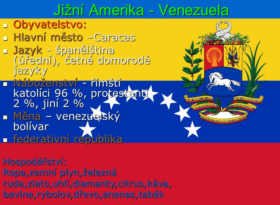 Jižní Amerika - Venezuela