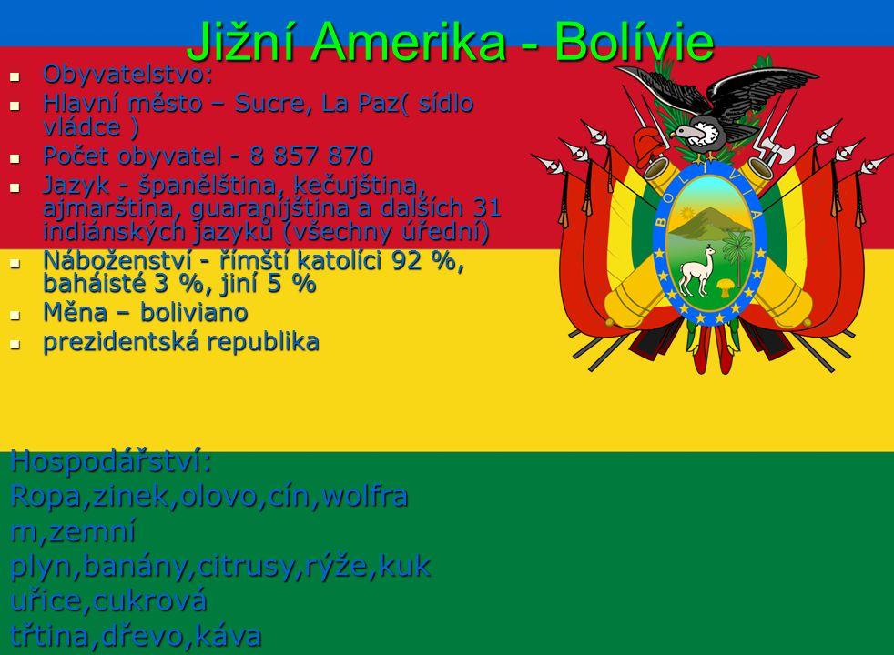 Jižní Amerika - Bolívie